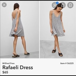 Wilfred Free || rafaeli dress